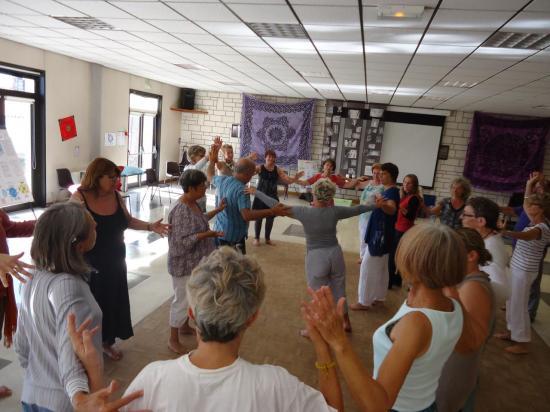 Danse méditative des runes